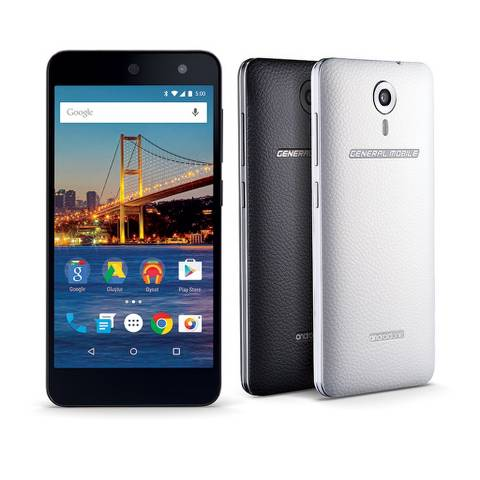 general mobile android one 4g siyah