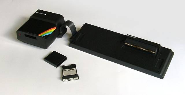Sinclair ZX Spectrum Interface ve Microdrive